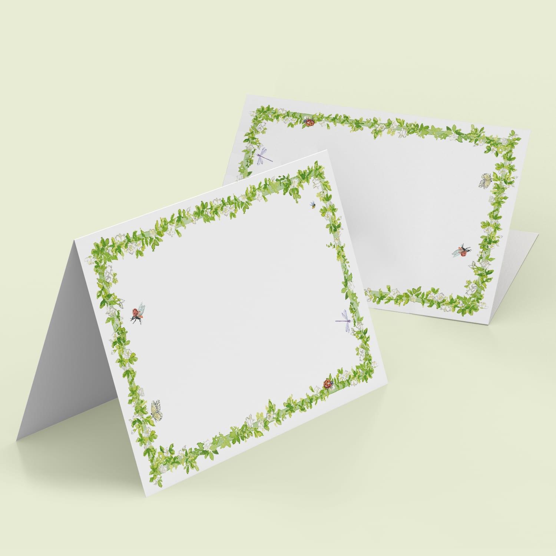 Enchanted Garden Place Cards